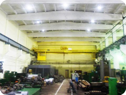 Светодиодные светильники для освещения промышленных объектов, складов и подсветки зданий