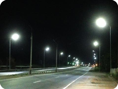 Светодиодные светильники для освещения улиц, парков, автостоянок и других территорий.